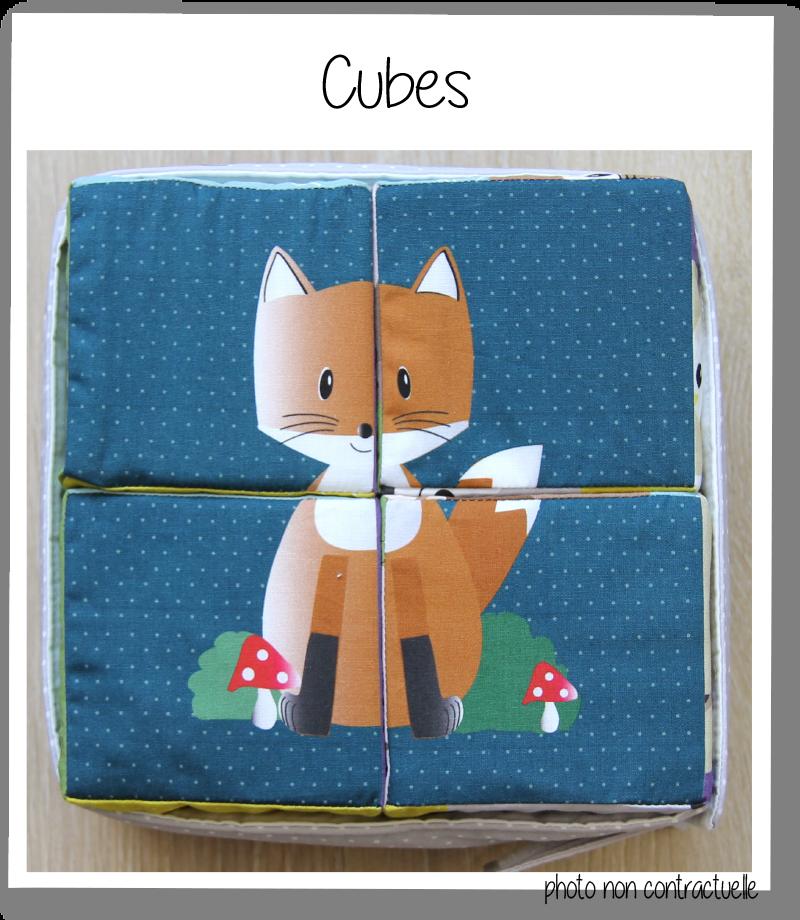 Cubes bleu 1