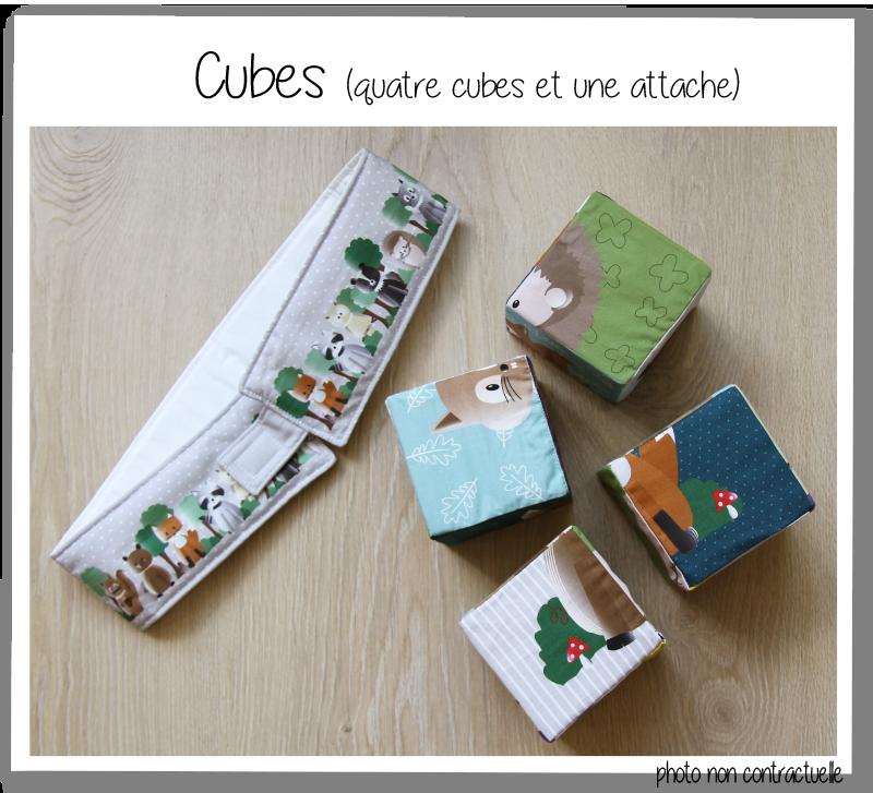 Cubes details