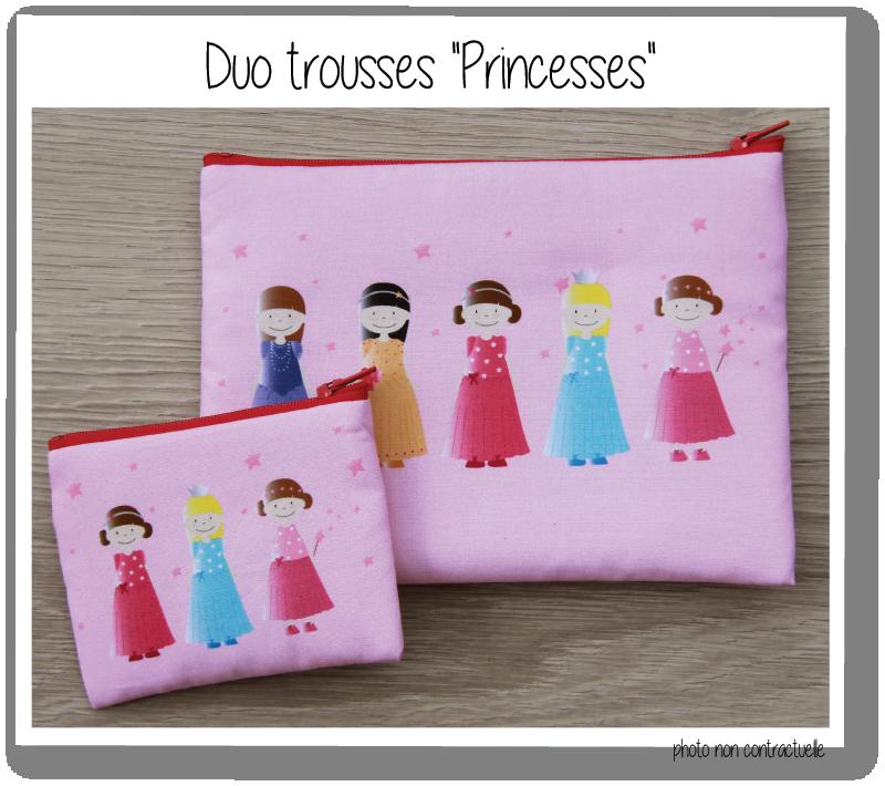 Kit duo trousse princesses 2