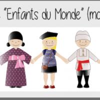 Kit ribambelle monde dess