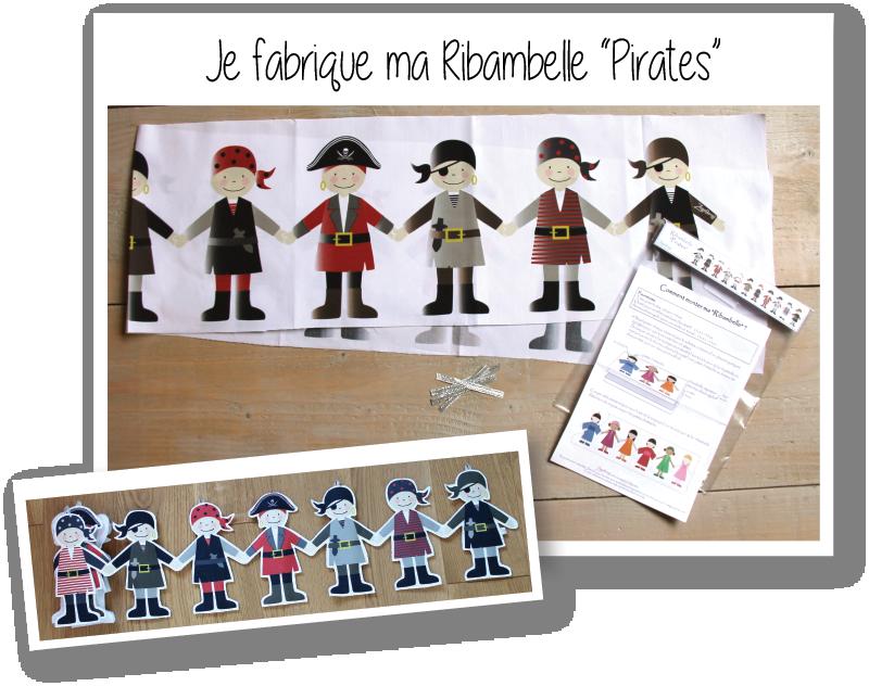 Kit ribambelle pirates 1