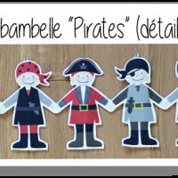Kit ribambelle pirates 2