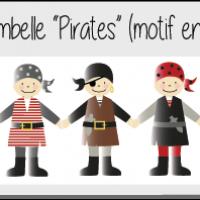 Kit ribambelle pirates de