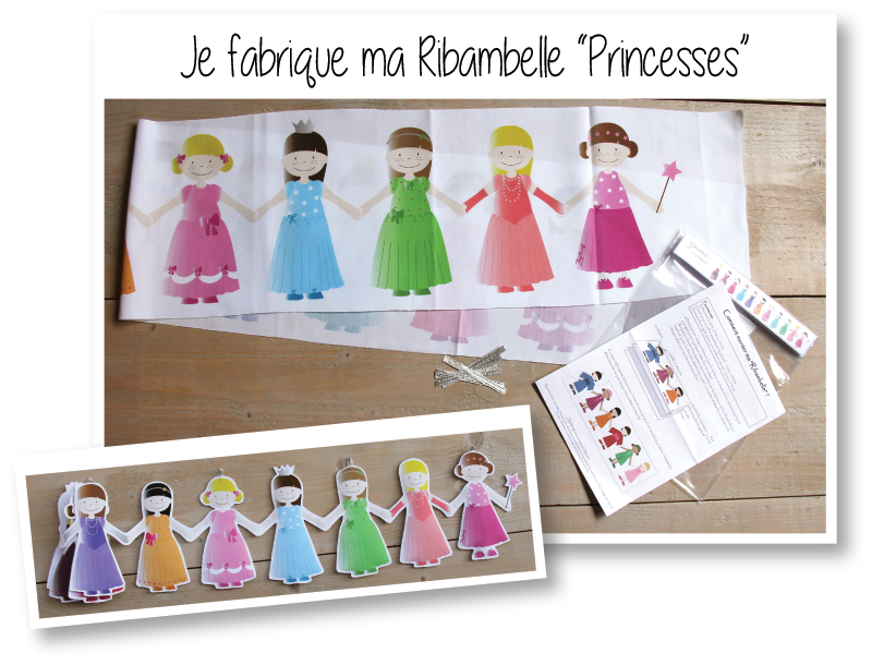 Kit ribambelle princesses 1