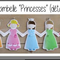 Kit ribambelle princesses 2