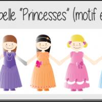 Kit ribambelle princesses
