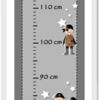 Kit toise pirates dessin