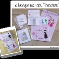 Kit toise princesses 1