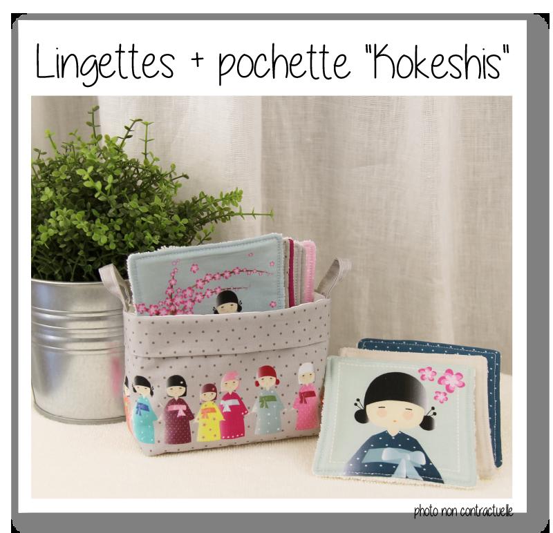 Lingettes kokeshis 1