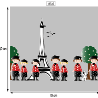 Parisiennes 10x10 1