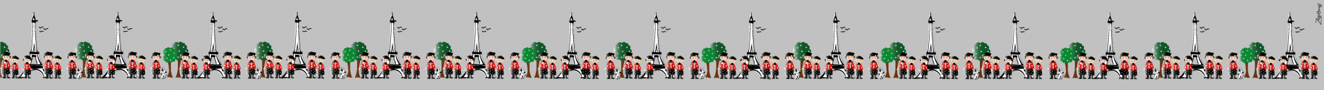 Parisiennes frise 1
