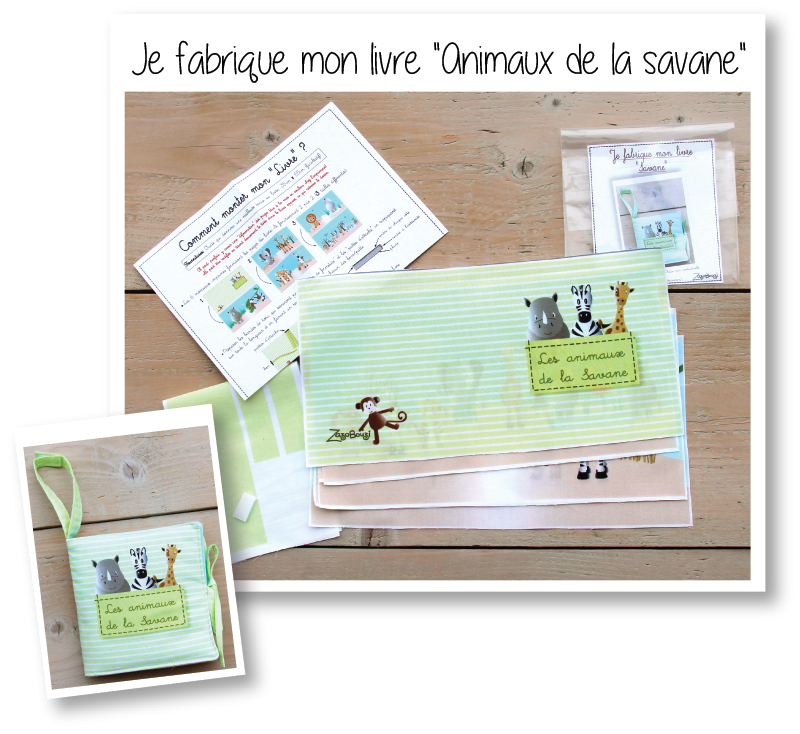 Photo kit livre savane
