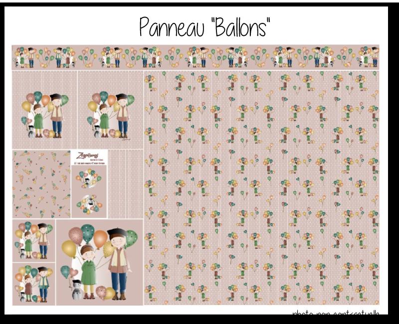Photo kit panneau ballons 2