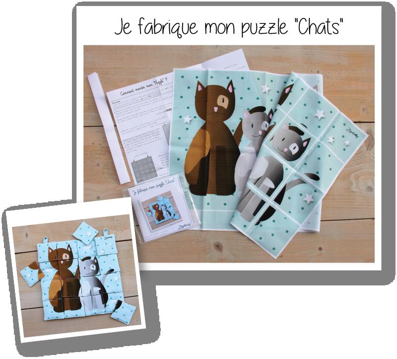 Photo kit puzzle chats