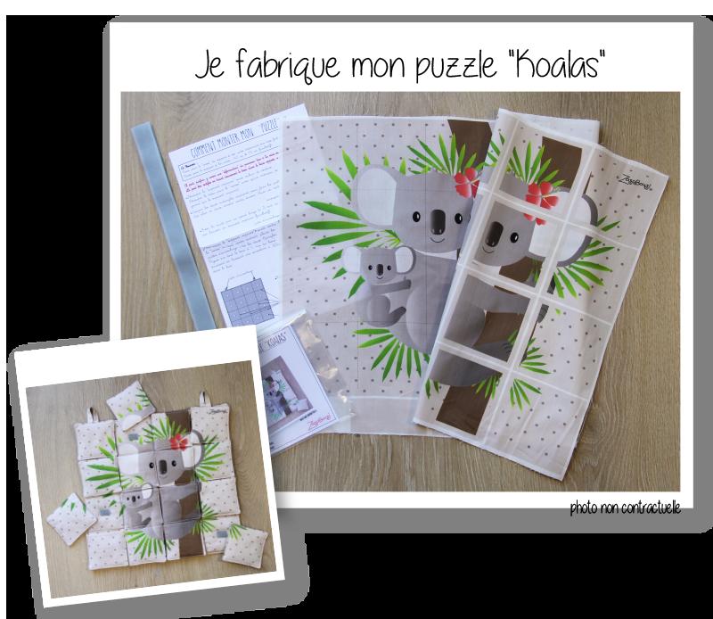 Photo kit puzzle koalas