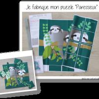Photo kit puzzle paresseux