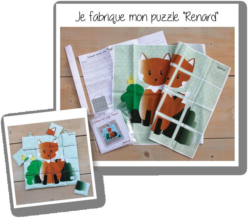 Photo kit puzzle renard