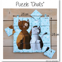 Photo puzzle chats