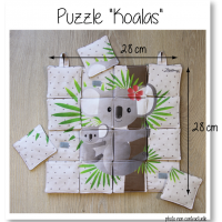 Photo puzzle koalas