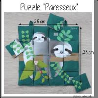 Photo puzzle paresseux