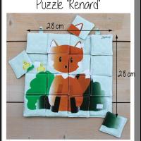 Photo puzzle renard