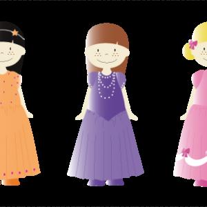 Personnages Princesses