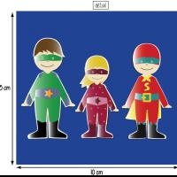 Super heros 10x10